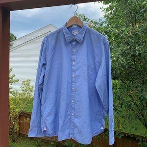Vintage J. Crew Pinstripe Shirt